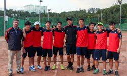 Varsity Boys Tennis 2017-18