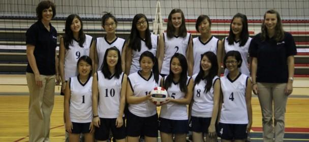JV Girls' Volleyball 2011-12