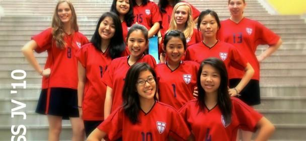 JV Girls' Volleyball 2010-11