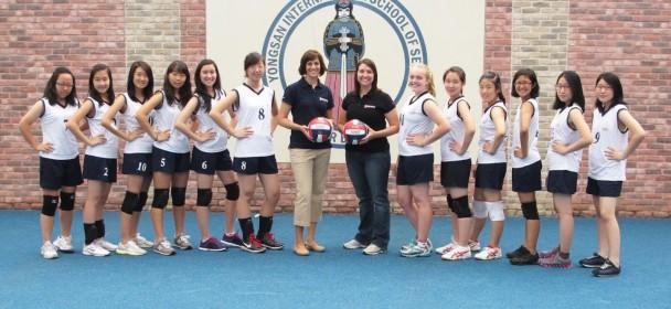 JV Girls' Volleyball 2012-13