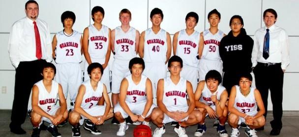 JV Boys' Basketball 2009-10