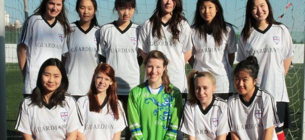 Varsity Girls Soccer 2010-11